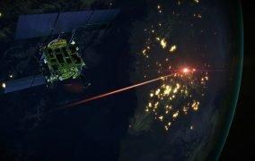 طرح گرافیکی ورود کپسول بازگشت مأموریت هایابوسا 2 ژاپن برای رساندن نمونههای سیارک ریوگو به زمین