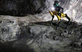 سگ رباتیک Au-Spot ناسا و بوستون داینامیکس