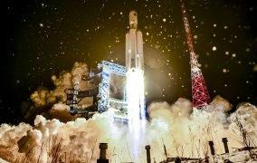 پرتاب آزمایشی موشک آنگارا A5 روسیه
