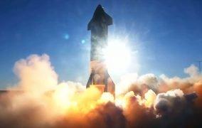 پرواز آزمایشی فضاپیمای استارشیپ SN8 اسپیسایکس
