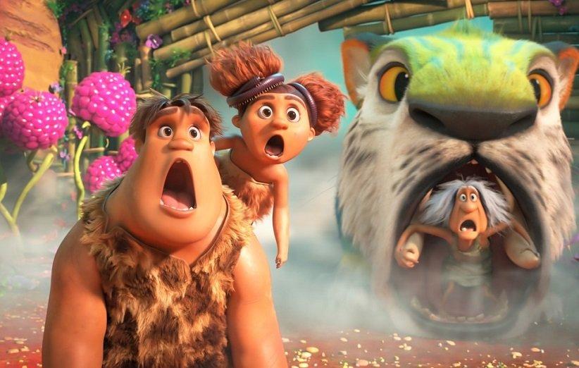 انیمیشن خانواده غارنشینان: عصر جدید