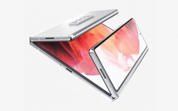 طرح مفهومی گوشی تاشو سامسونگ گلکسی Z Fold 3 Dual-Fold