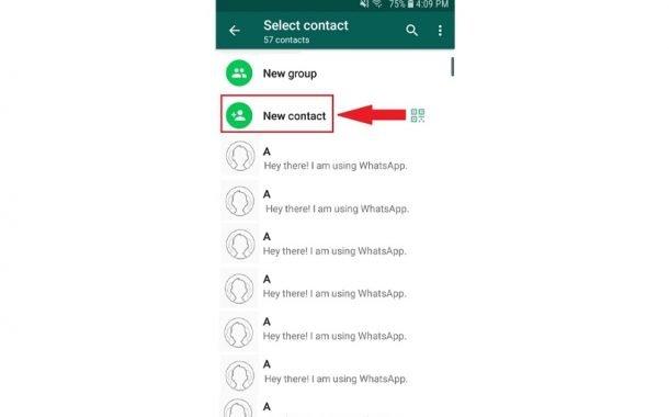 آموزش ارسال پیام به خود در واتساپ