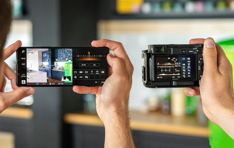 رابط کاربری دوربین گوشی سونی اکسپریا 1 مارک 2