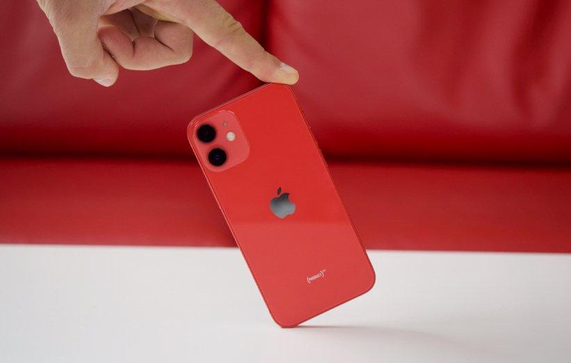 گوشی اپل آیفون 12 مینی قرمز