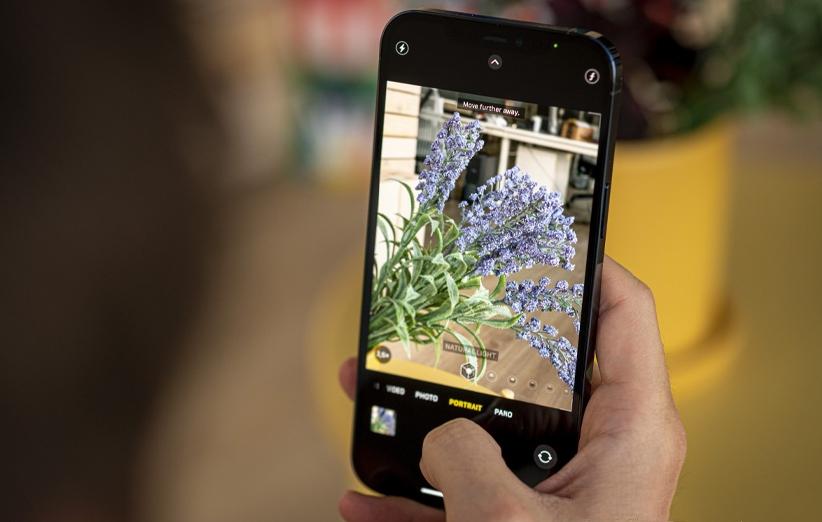 رابط کاربری دوربین گوشی اپل آیفون 12 پرو مکس
