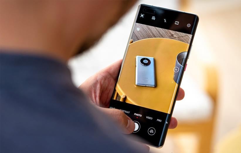 رابط کاربری دوربین گوشی هواوی میت 40 پرو