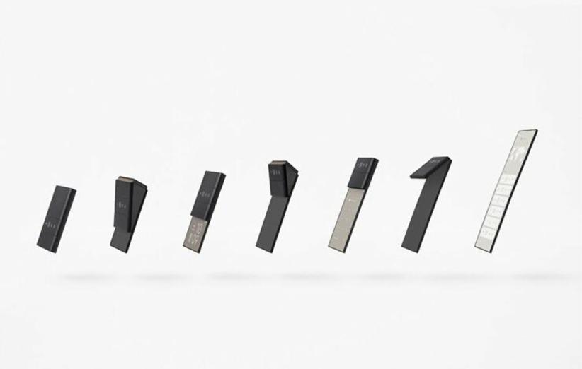 گوشی تاشوی اوپو با قابلیت تاشوندگی سهباره