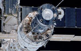 ماژول زیوودا در ایستگاه فضایی بینالمللی