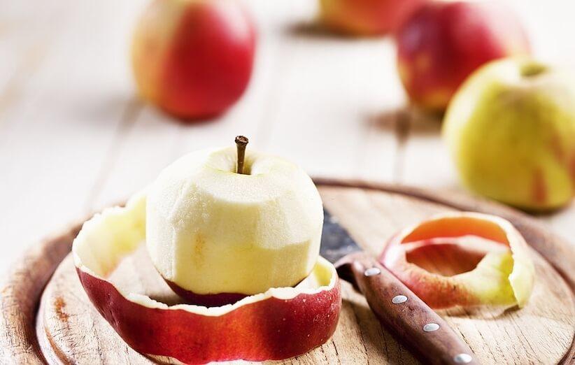 پوست سیب - راههای استفاده