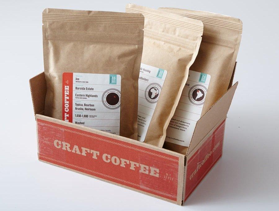 بستههای قهوه