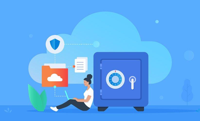 رمزگذاری فضای ذخیرهسازی ابری