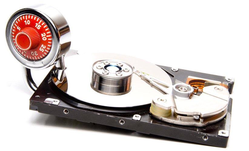 رمزگذاری دیسک