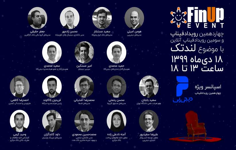 رویداد فیناپ با حضور برادران محمدی