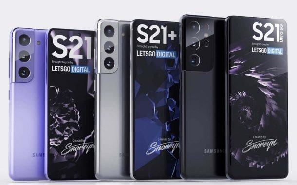 تصاویر مربوط به گوشیهای سری گلکسی S21 سامسونگ