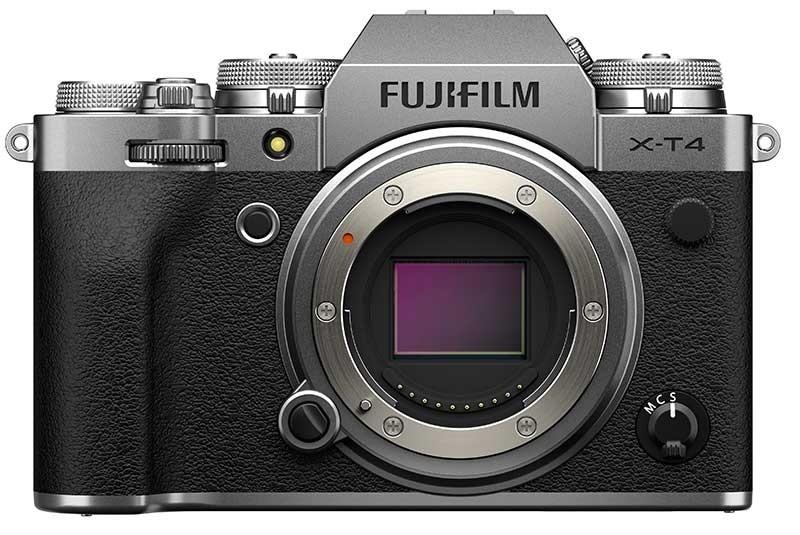 دوربین فوجیفیلم X-T4 نقرهای