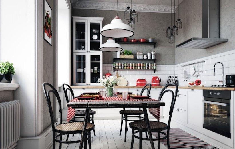 دکوراسیون آشپزخانه ۲۰۲۱ - گرم و صمیمی