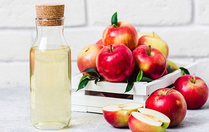 سرکه سیب مناسب رفع گلو درد
