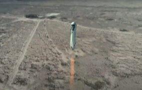 مأموریت NS-14 فضاپیما و کپسول نیو شپرد شرکت بلو اوریجین