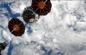 جدایی فضاپیمای سیگنوس NG-14 از ایستگاه فضایی بینالمللی