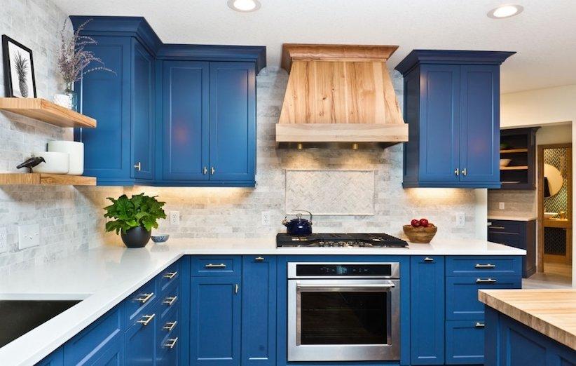 دکوراسیون آشپزخانه 2021 - هود تزئینی