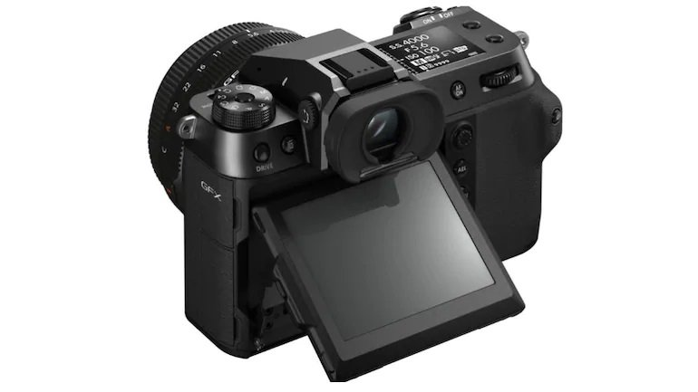 پشت دوربین فوجیفیلم GFX 100S