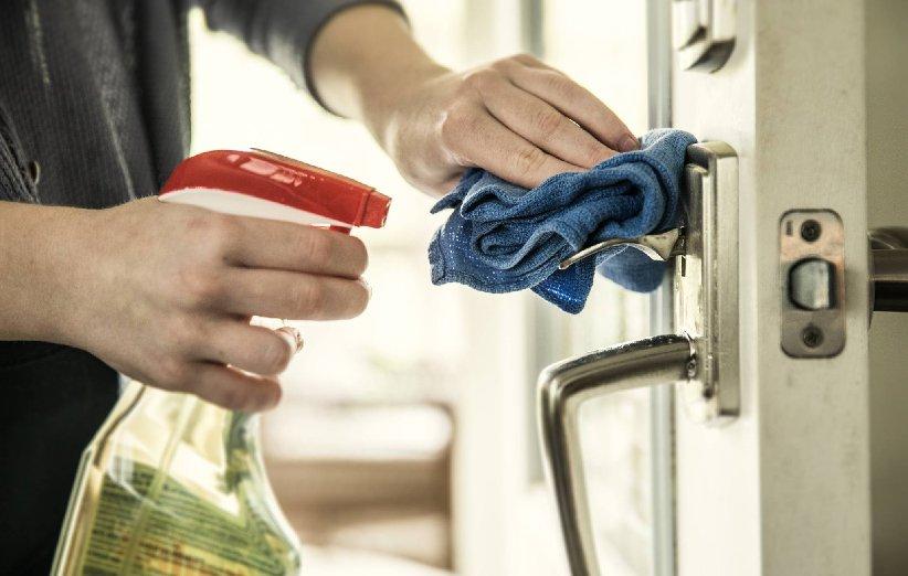 دستگیرهی در از کثیفترین قسمتهای خانه