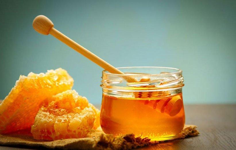 درمان عفونت و گلو درد با عسل
