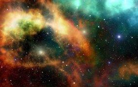 طرحی گرافیکی از ساختار کیهانی