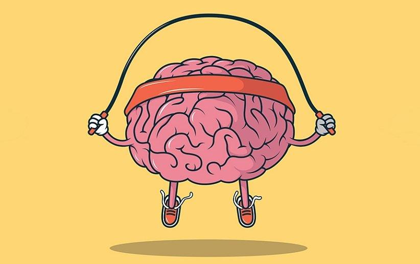 مغز در حال ورزش