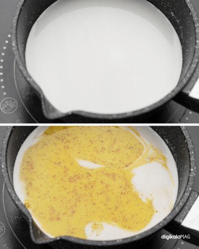 حلوا با شیر