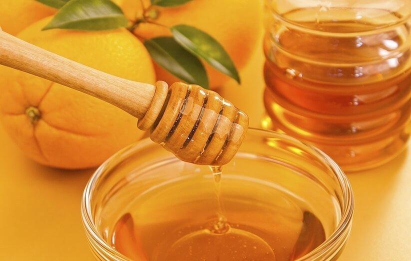 ماسک صورت - عسل و پرتقال