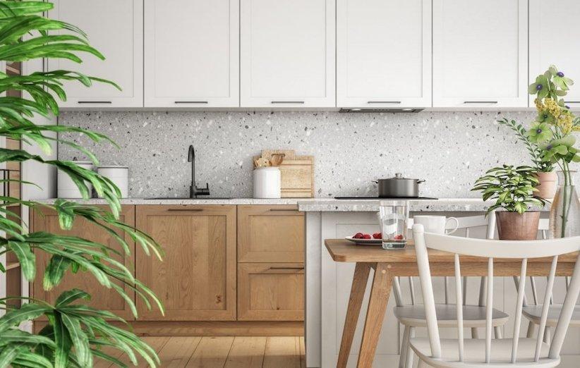 دکوراسیون آشپزخانه 2021 - عناصر ارگانیک