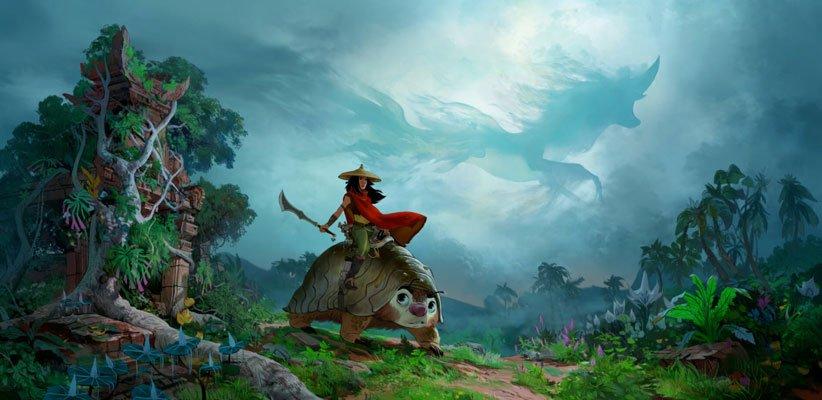 انیمیشن رایا و آخرین اژدها