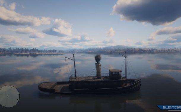 قایقهای Red Dead Online