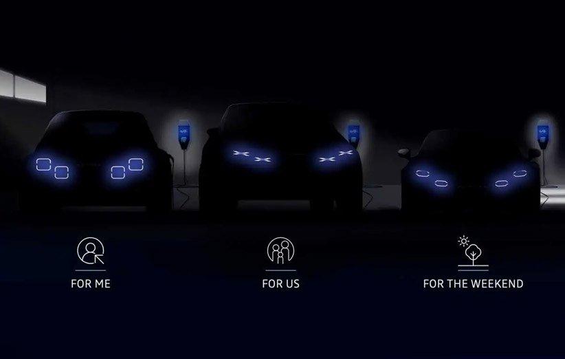 طرح مفهومی خودروهای جدید الکتریکی آلپاین رنو