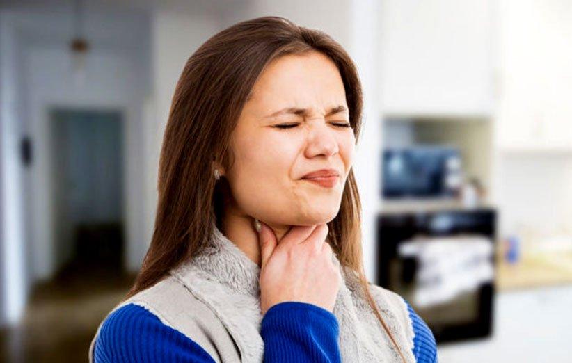 درمان طبیعی گلو درد
