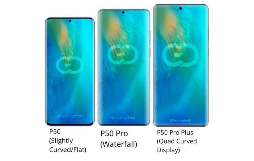 گوشیهای سری هواوی P50