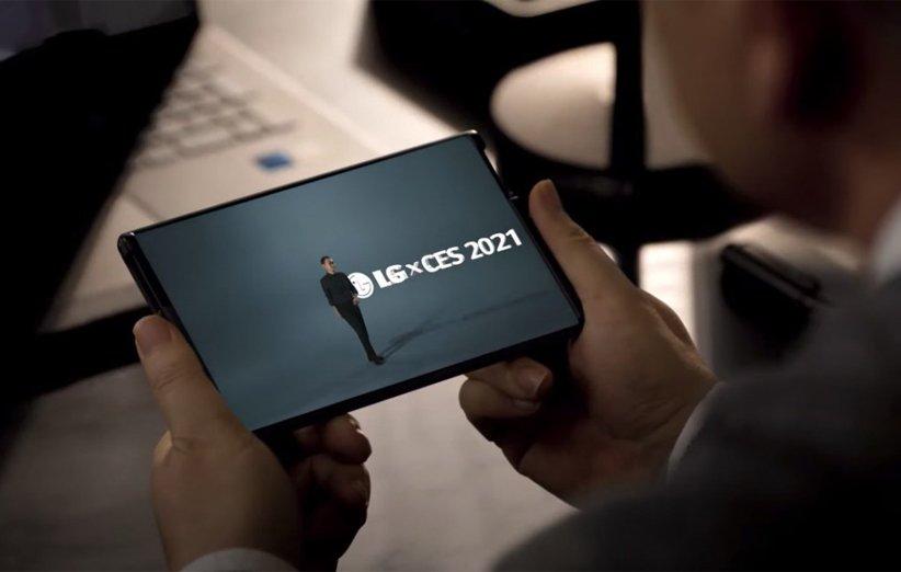 گوشی رول شونده LG