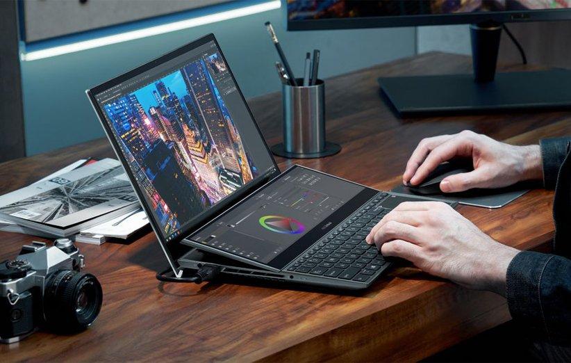 لپتاپ ZenBook Duo ایسوس