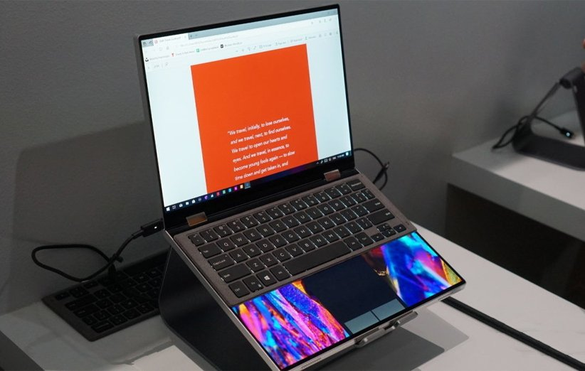 لپتاپ دل در نمایشگاه CES 2021