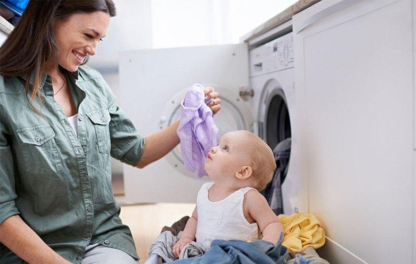 لباسهایی بخرید که شستن آنها آسان باشد