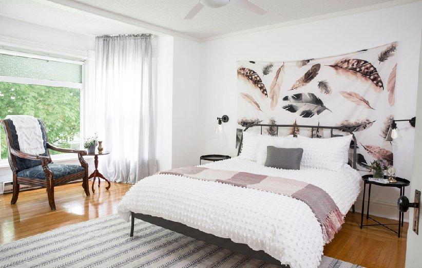 اتاق خواب از جمله کثیفترین قسمتهای خانه