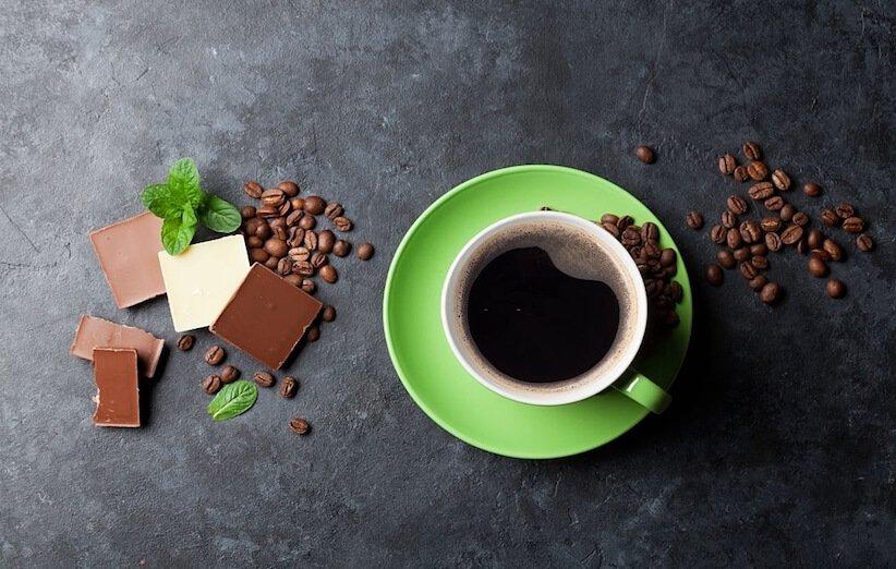 کافئین در غذاها