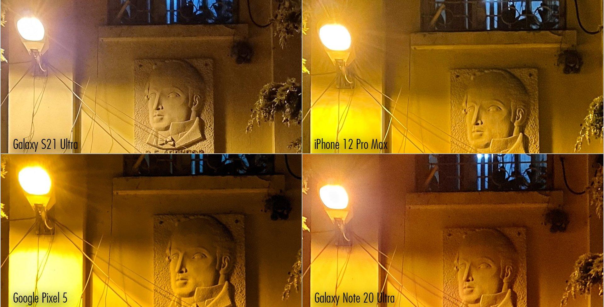 مقایسه دوربین گلکسی S21 اولترا