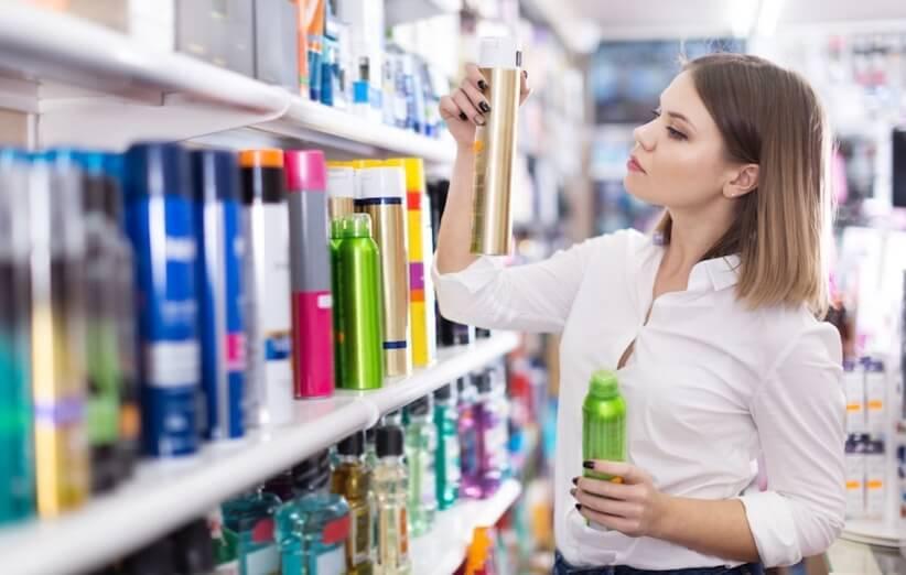 محافظت از مو - مواد شیمیایی