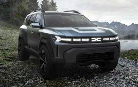 طرح مفهومی خودروی شاسیبلند کامپکت جدید داچیا با نام بیگستر