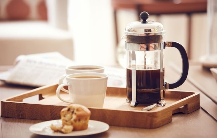 آسانترین روش تهیهی قهوه خوش طعم در منزل با فرنچ پرس