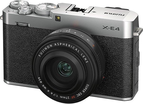 دوربین فوجیفیلم XE-4 نقرهای