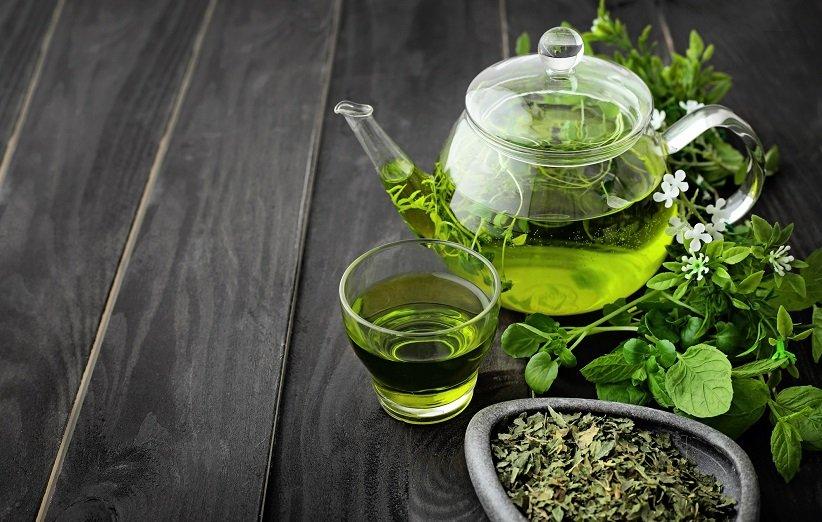 ماسک چای سبز برای درمان ریزش مو